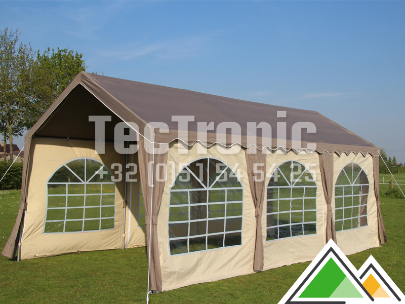 luxe partytent 3x6. Black Bedroom Furniture Sets. Home Design Ideas